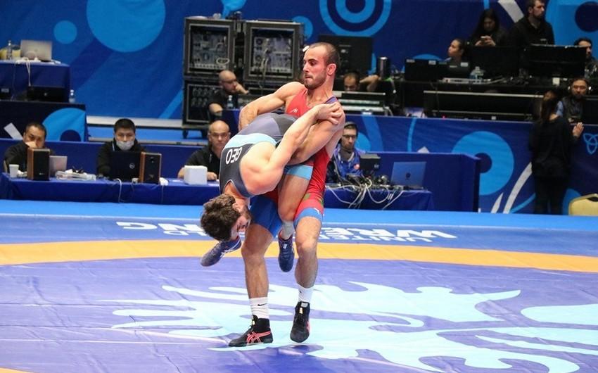 Azərbaycanın yunan-Roma güləşçiləri dünya çempionatında çıxışlarını olimpiadaya lisenziya qazanmadan başa vurublar