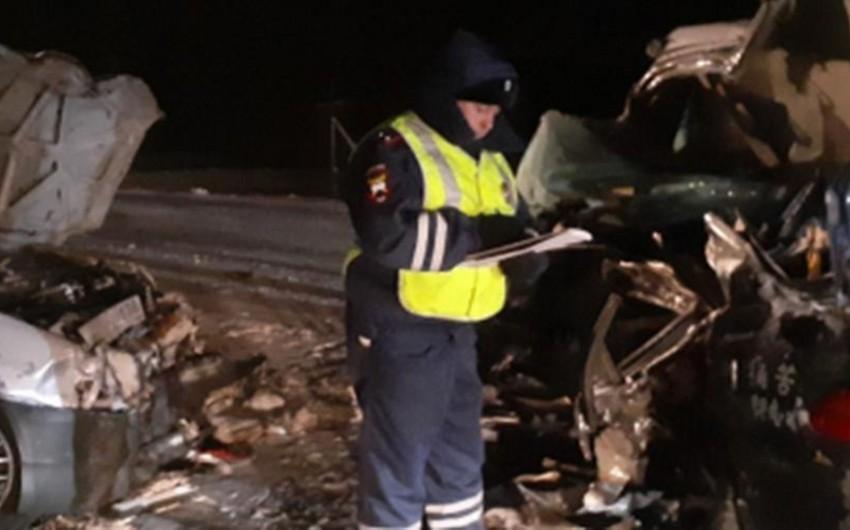 Три человека погибли в крупном ДТП в Красноярском крае