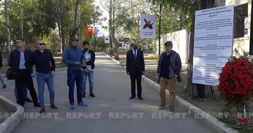 Ukrainian journalists visit Ganja