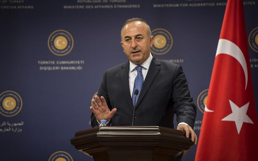 Çavuşoğlu discusses Karabakh issue with British Foreign Secretary
