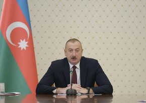 Ilham Aliyev: Conflict is already in history, we need to look to future