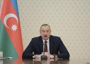 Prezident: Vətənə sevgi, düşmənə nifrət hissi ilə yetişən gənc nəsil torpaqlarımızı işğalçılardan azad etdi