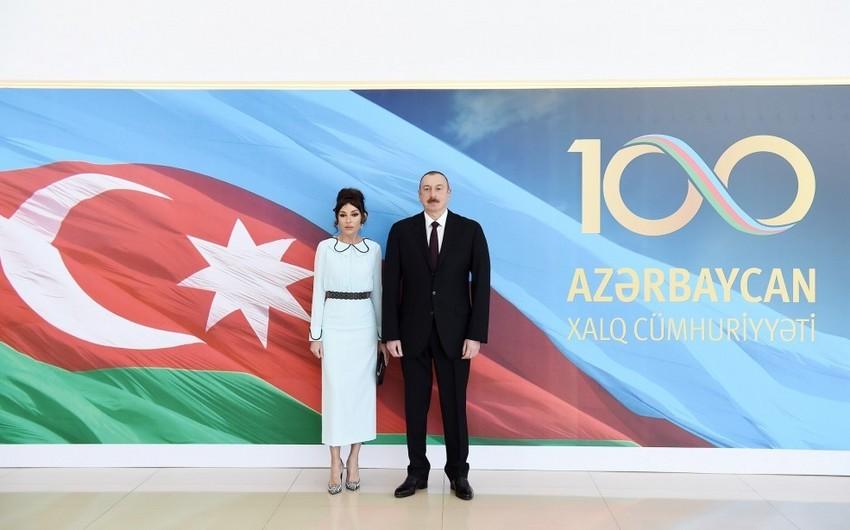 Azərbaycan Xalq Cümhuriyyətinin 100 illik yubileyinə həsr olunan rəsmi qəbul keçirilib - ƏLAVƏ OLUNUB