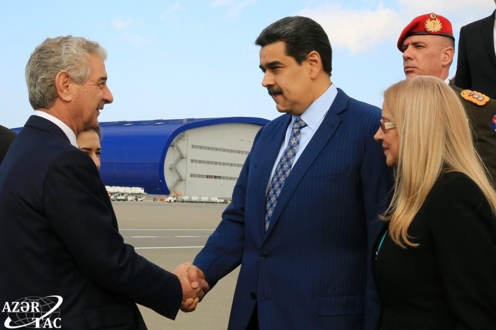 Президент Венесуэлы прибыл с визитом в Азербайджан