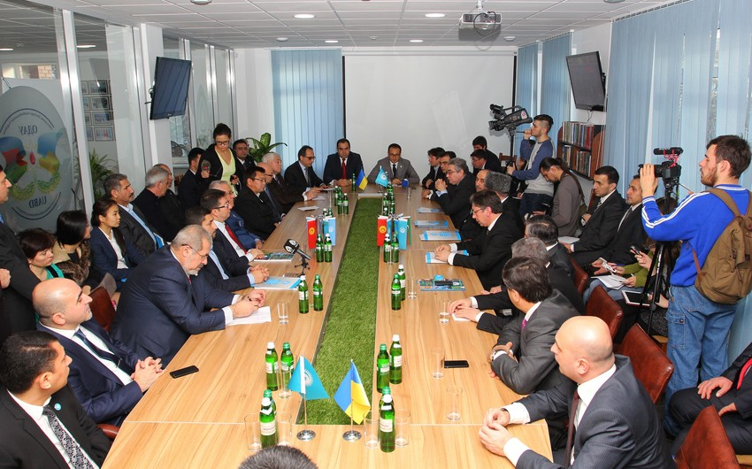 Türkdilli ölkələrin regional diaspor mərkəzinin açılışı olub