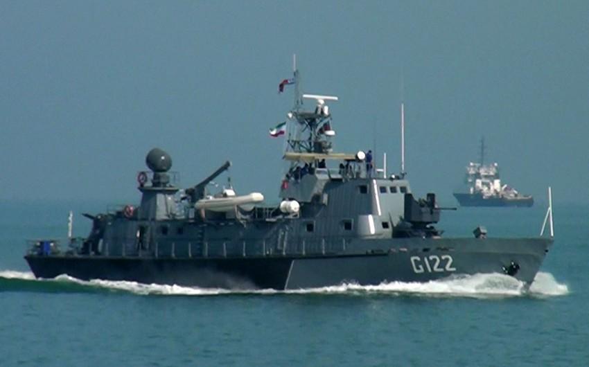 """""""Dəniz kuboku"""" müsabiqəsində artilleriya atışları yerinə yetirilib"""