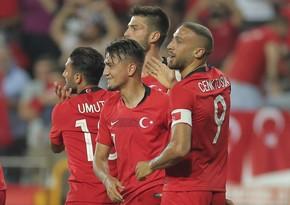 Турция одержала первую победу в Лиге Наций