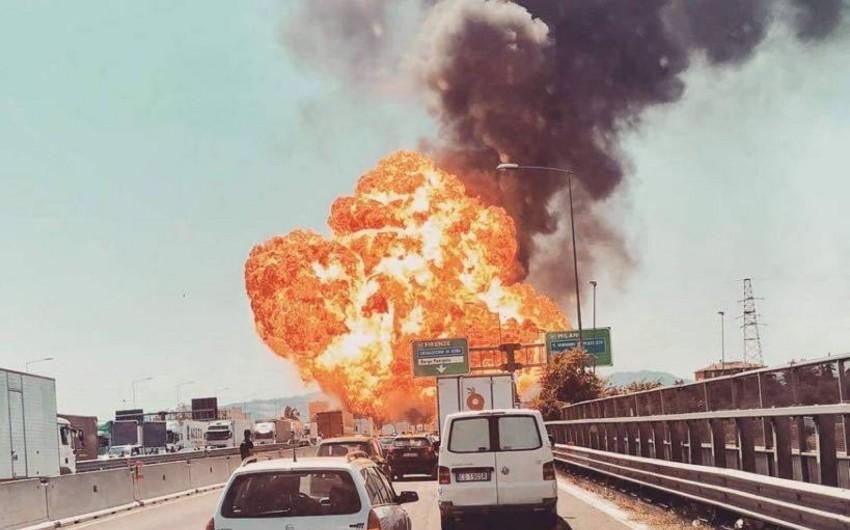 İtaliyada partlayış nəticəsində ölənlərin sayı artıb, 84 nəfər yaralı var - VİDEO - YENİLƏNİB-2