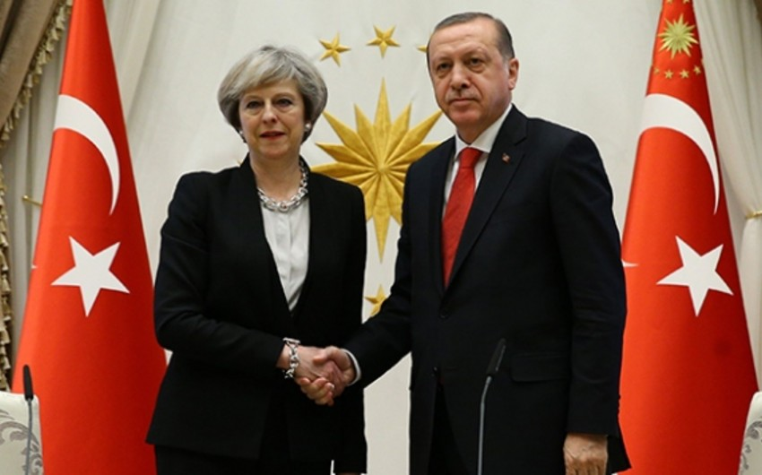Turkish President and British PM discussed the situation in Syria