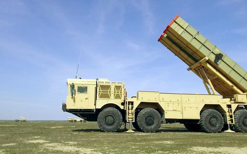 Azərbaycan Ordusunun əməliyyat-taktiki raket bölmələri təlimlərə cəlb edilib - VİDEO