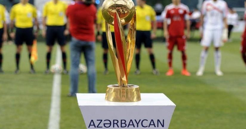 Azərbaycan Kuboku: 1/8 finalın oyun cədvəli açıqlandı