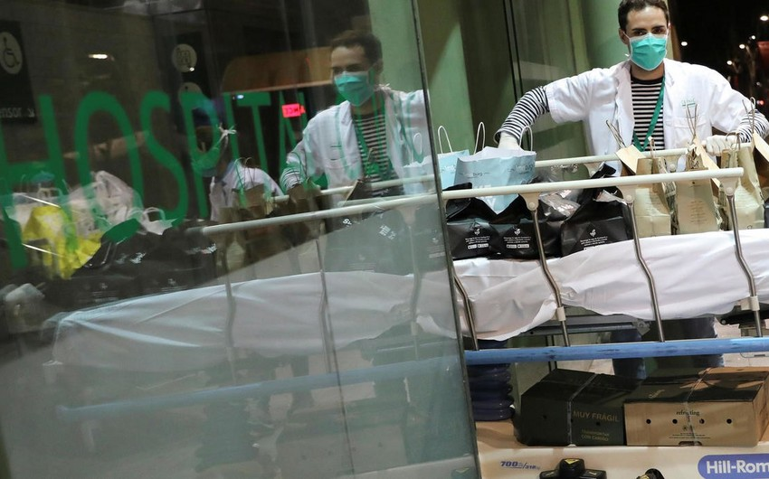 İspaniyada pandemiyadan ölənlərin sayı 10 mini keçdi