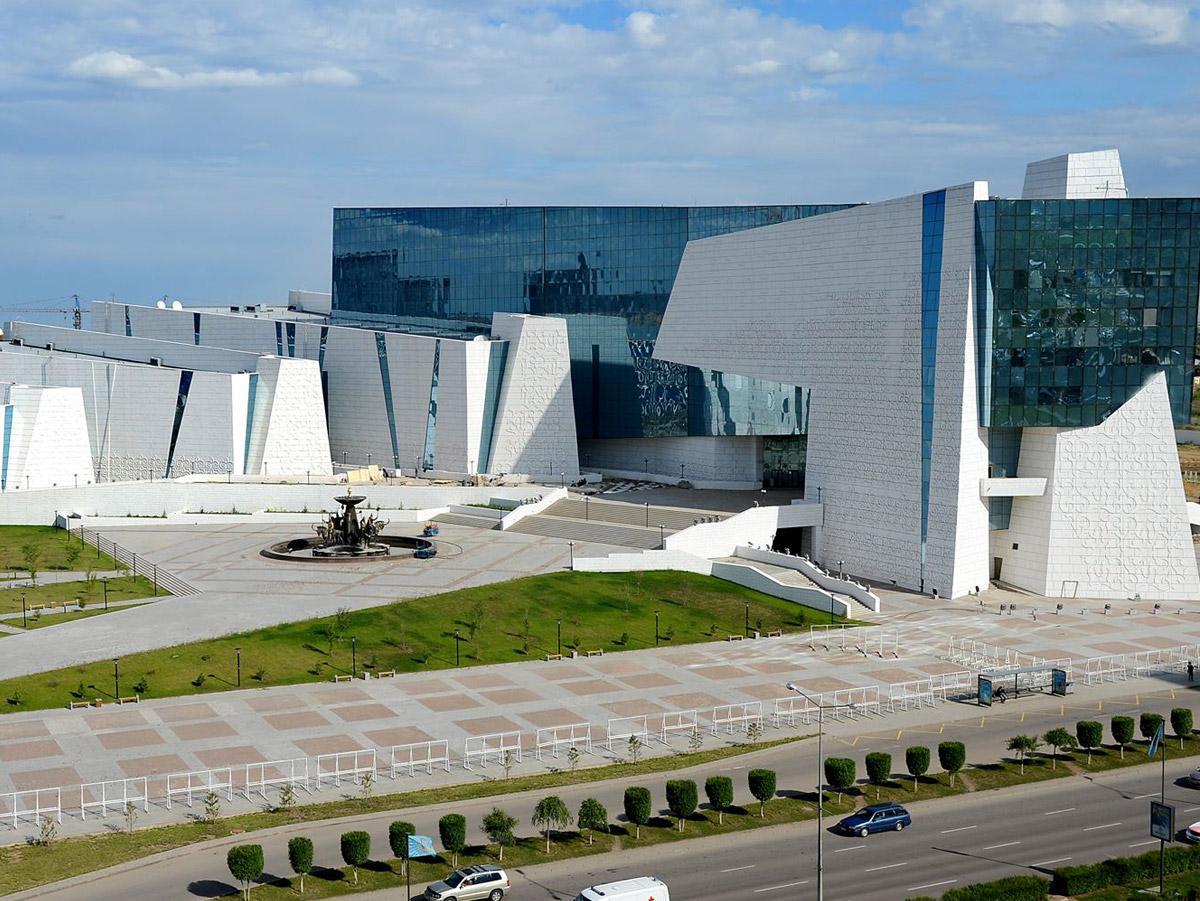 Astana hosts exhibition Azerbaijan - Perl of Islamic World