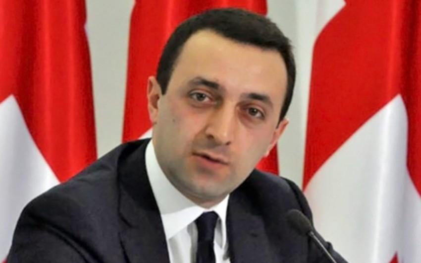Gürcüstanın baş naziri istefa verib