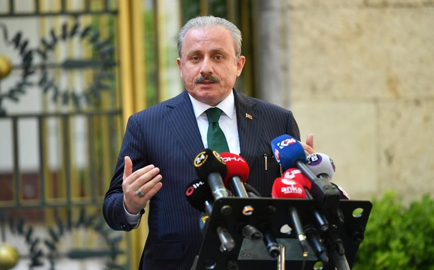 """Mustafa Şentop: """"Xocalı qətliamını unutmaq mümkün deyil"""""""
