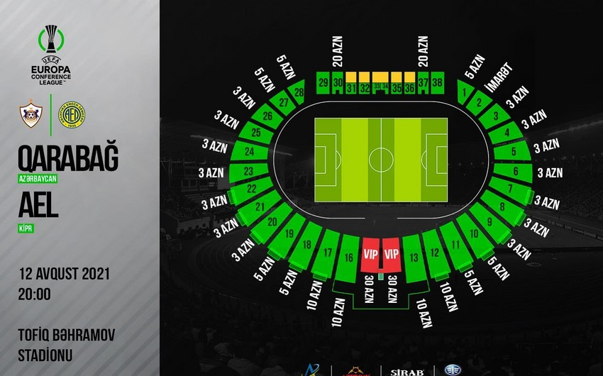 Avrokubok matçına satılmış biletlərin sayı -