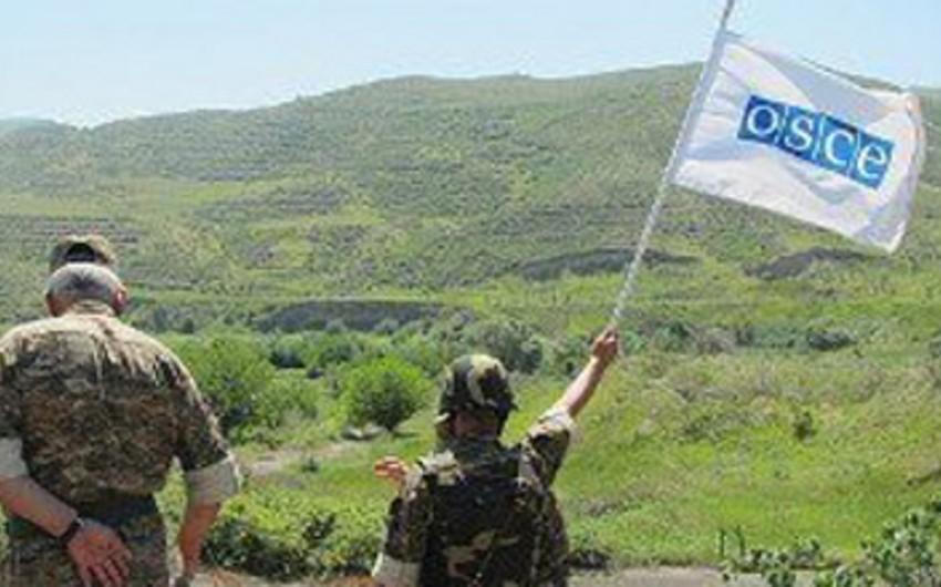 Azərbaycan-Ermənistan qoşunlarının təmas xəttində monitorinq keçirilib