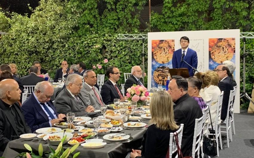 Azərbaycan icmasının tanınmış üzvü İspaniyada iftar verib