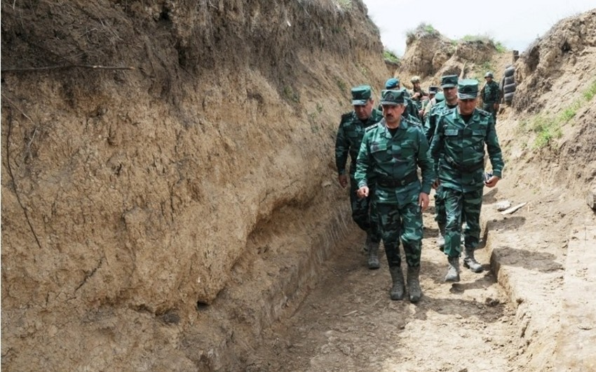SBS Chief checks combat activity of checkpoints on contact line with Armenia
