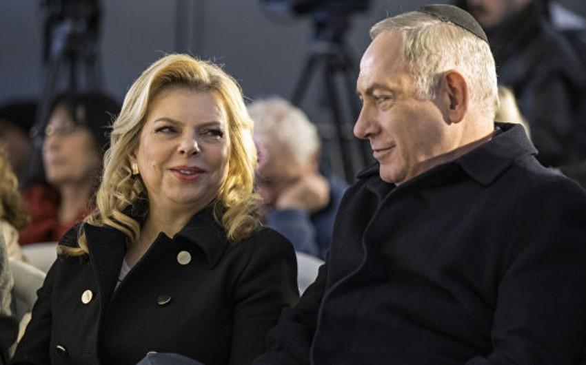 Binyamin Netanyahunun xanımı restoran yeməyi sifarişlərinə görə cərimə edilib