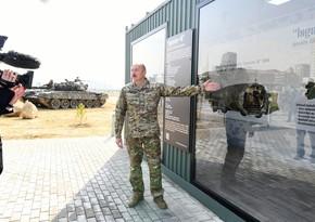 """Prezident: """"Bu ölümcül silah Ermənistanın əlinə necə düşdü? Hələ ki, cavab ala bilməmişik"""""""
