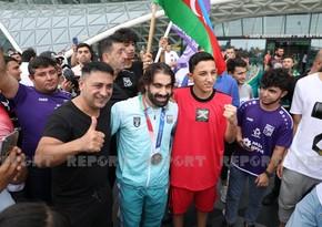 Tokio-2020: Azərbaycan karateçiləri Bakıya qayıdıb