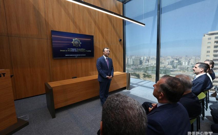 Представители дипломатического корпуса ознакомились с первым центром DOST
