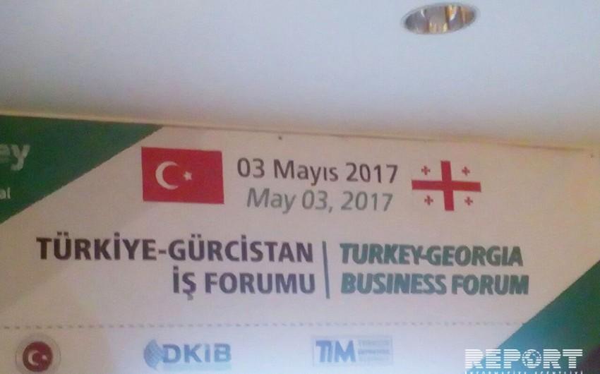 Tbilisidə Gürcüstan-Türkiyə biznes forumu keçirilir - FOTO