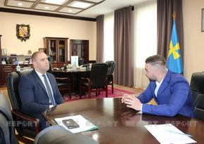 Губернатор Полтавской области: Мы будем рады совместной деятельности с азербайджанской молодежью