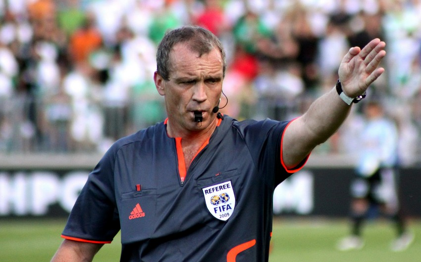 UEFA millimizin oyunundakı erməni hakim-inspektoru dəyişdi