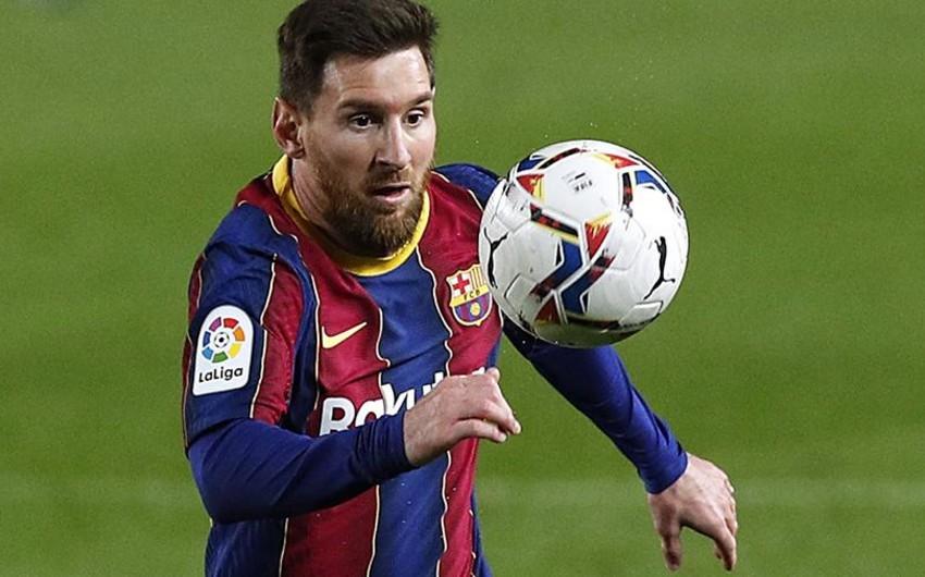 Messi İspaniya çempionatında yeni rekorda imza atdı