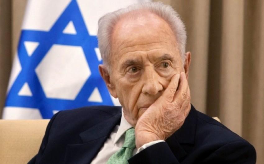 Бывший президент Израиля Шимон Перес госпитализирован после инсульта