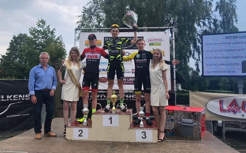 Azərbaycan velosipedçisi Belçikadakı yarışda birinci olub