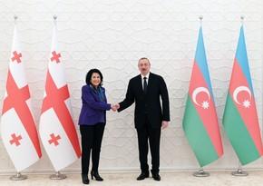 President of Azerbaijan writes letter to his Georgian counterpart
