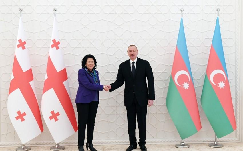 Azərbaycan Prezidenti gürcüstanlı həmkarına məktub yazıb