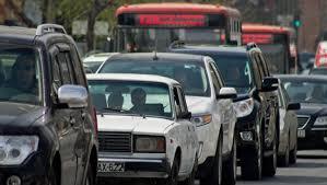 На Тбилисском проспекте отмечается плотное движение транспорта