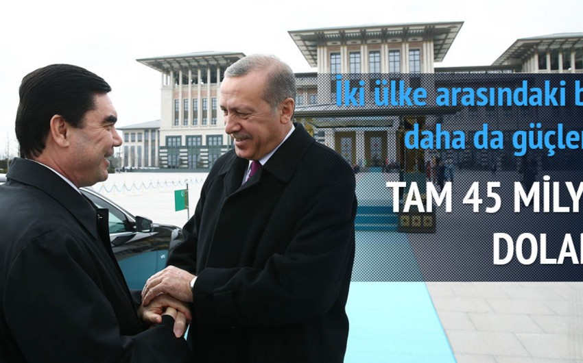 Türkmənistan prezidenti Türkiyəyə səfər edib