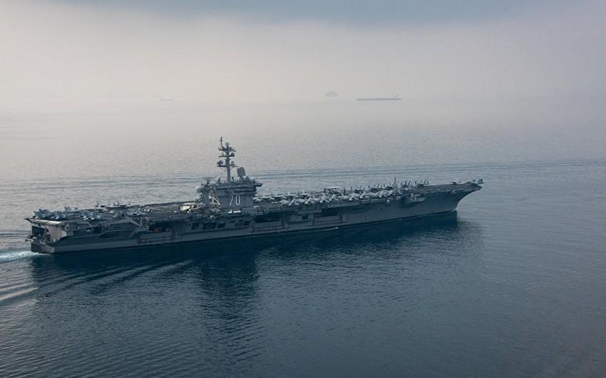 ABŞ Abraham Lincoln aviadaşıyıcısını siqnal üçün İran sahillərinə göndərir