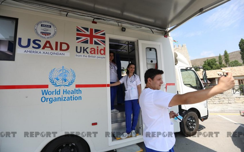 WHO hands over 3 mobile clinics to TABIB in Shamakhi