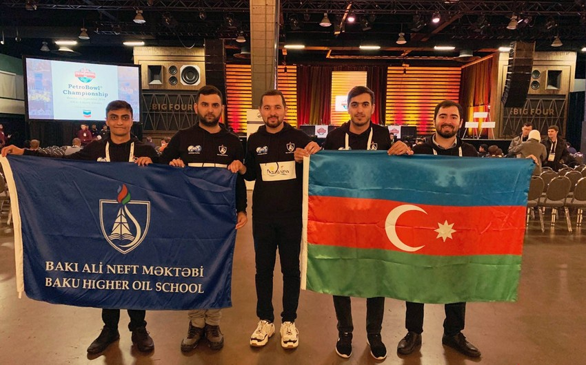 Students of Baku Higher Oil School represent Azerbaijan at prestigious international oil and gas competition