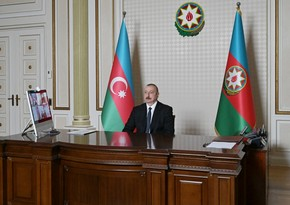 Prezident: Azərbaycan Xəzər dənizində 260 gəmidən ibarət ən böyük donanmaya malikdir