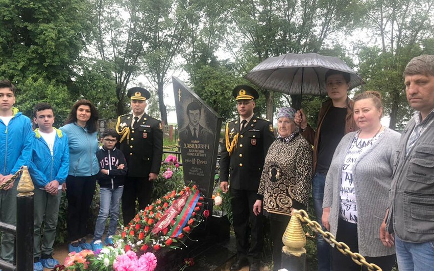 Belarusda Azərbaycanın Milli Qəhrəmanının xatirəsi yad edilib