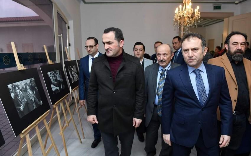 İstanbulda Xocalı soyqırımının qurbanları anılır - FOTO - VİDEO
