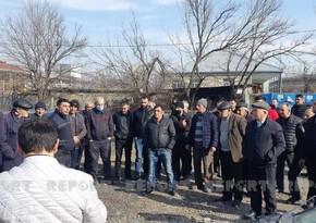 Gürcüstanın azərbaycanlılar yaşayan kəndində etiraz aksiyası keçirilib