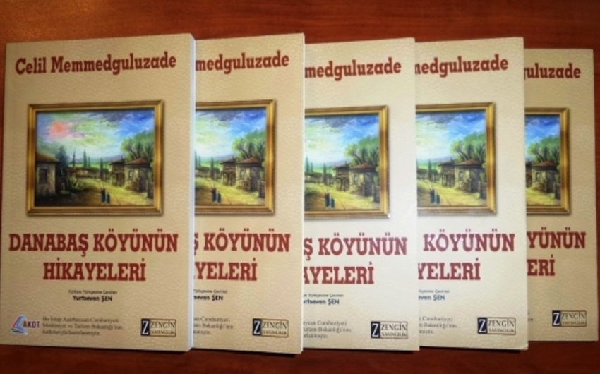 """""""Danabaş kəndinin əhvalatları"""" kitabı türk dilində çapdan çıxıb"""