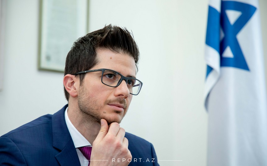 Посол: Зангилан станет центром сотрудничества Азербайджана, Израиля и Италии