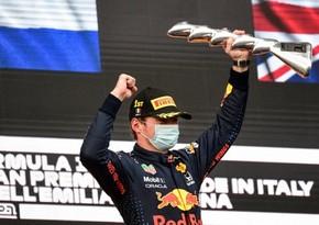 Ферстаппен выиграл Гран-при Эмилия-Романьи