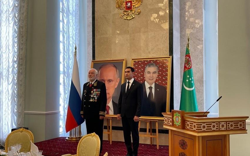Состоялся государственный прием в Посольстве России в Ашхабаде