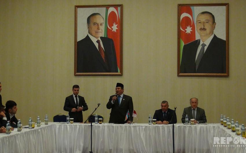 В Губе начался III бизнес-форум Азербайджан-Индонезия - ФОТО