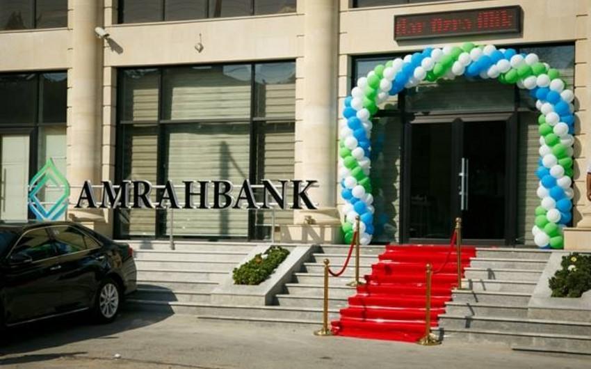 Amrahbankın baş ofisi yeni ünvana köçüb